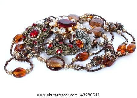 jewellery - stock photo