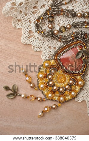 Jewellery and lace