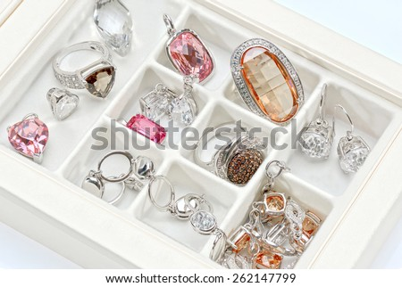 Jewelry Box - stock photo