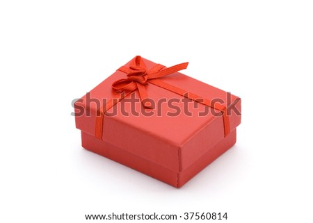 jewelry box - stock photo