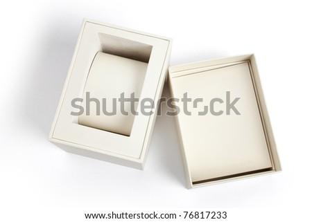 Jewelry Box close up shot - stock photo