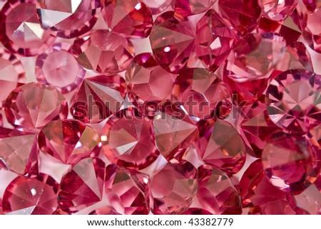 jewelry strass - stock photo
