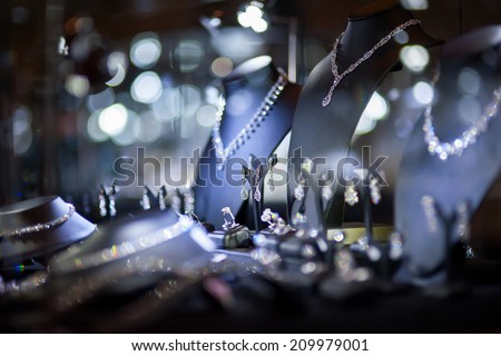 jewelry window display