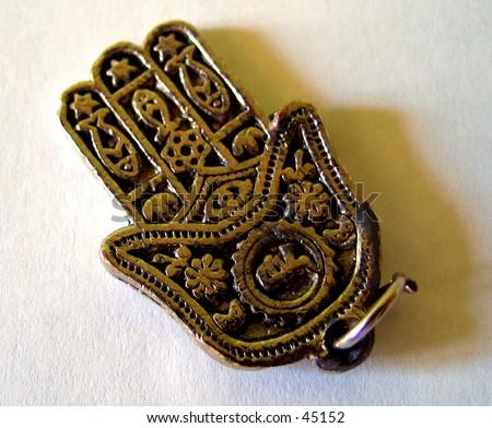 Jewish Hand - stock photo