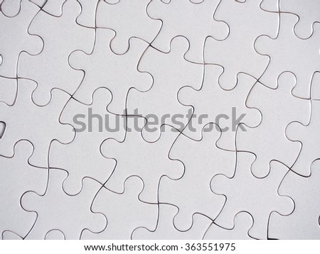 Jigsaw puzzle background. - stock photo