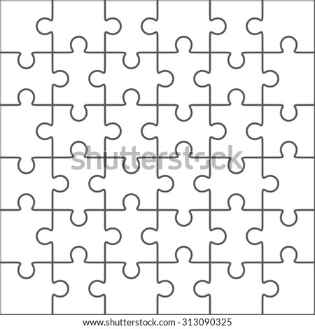 Jigsaw Blank For Puzzle Templates Images RoyaltyFree – Blank Puzzle Template