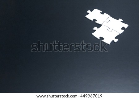 Jigsaw puzzle pieces abstract image visual