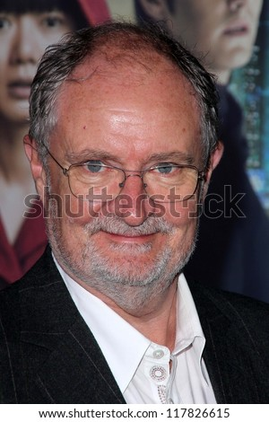 """Jim Broadbent at the """"Cloud Atlas"""" Los Angeles Premiere, Chinese Theater, Hollywood, CA 10-24-12 - stock photo"""