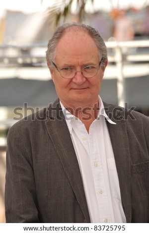 "Jim Broadbent at the photocall for his movie ""Another Year"" in competition at the 63rd Festival de Cannes. May 15, 2010  Cannes, France Picture: Paul Smith / Featureflash"