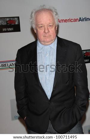 Jim Sheridan at US Ireland Alliance Oscar Wilde Honors, Bad Robot, Santa Monica, CA 02-23-12 - stock photo