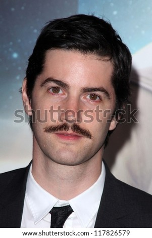 """Jim Sturgess at the """"Cloud Atlas"""" Los Angeles Premiere, Chinese Theater, Hollywood, CA 10-24-12 - stock photo"""