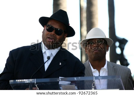 Jimmy Jam and Terry Lewis at the Boyz II Men Star On The Hollywood Walk Of Fame Ceremony, Hollywood, CA 01-05-12
