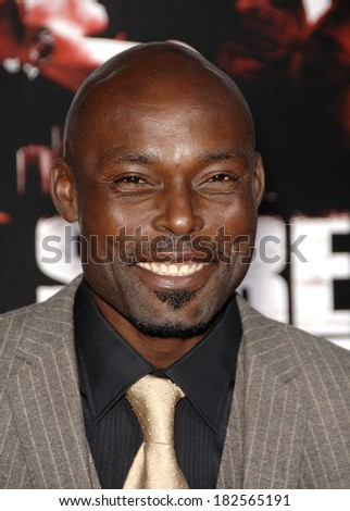 Jimmy Jean-Louis at Fox Searchlight Premieres STREET KINGS, Grauman's Chinese Theatre, Los Angeles, CA, April 03, 2008