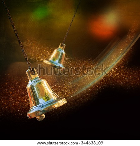 Jingle bells - stock photo