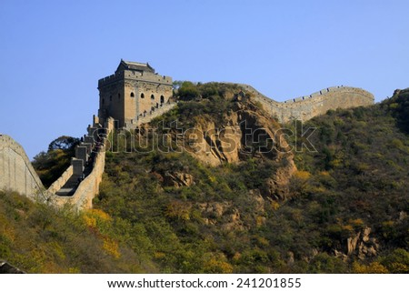 Jinshanling Great Wall scenery, China