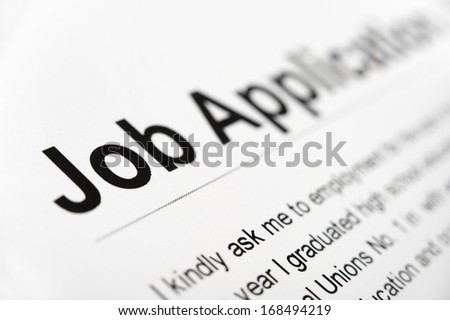 photography job application