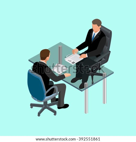 Job interview business, Job interview icon, Job interview isometric, job interview man, Job interview icon new, Job interview interviews, Job interview interviewing, Job interview in office - stock photo