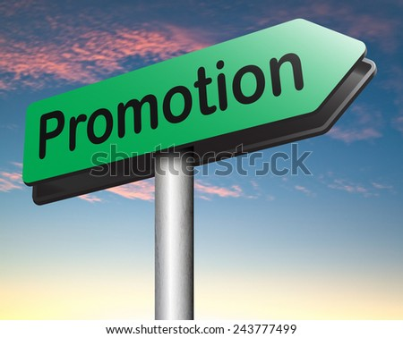 job promotion or product summer or winter sales promotion   - stock photo