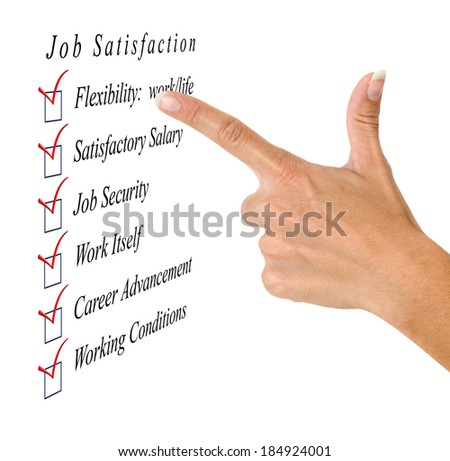 Job satisfaction list