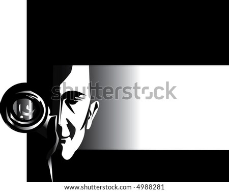job series - photographer - stock photo