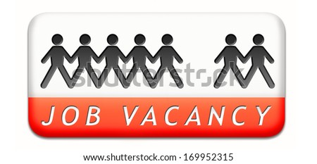job vacancy help wanted search employees for jobs opening find worker for open vacancies   - stock photo