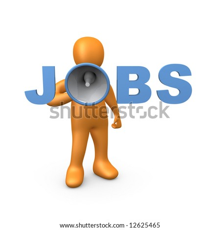 Jobs - stock photo