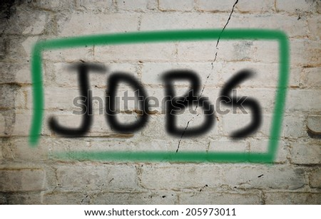 Jobs Concept - stock photo