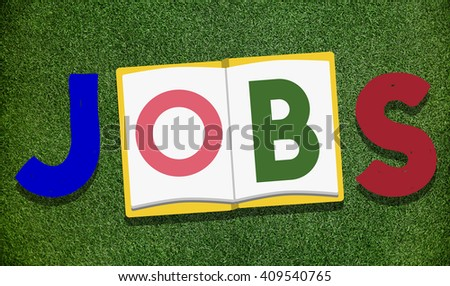 Jobs Occupation Work Career Profession Concept - stock photo