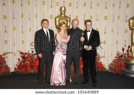 Jochen Alexander Freydank and Seth Rogen in the Press Room at the 81st Annual Academy Awards. Kodak Theatre, Hollywood, CA. 02-22-09