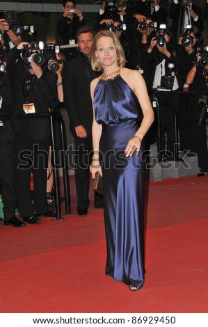 "Jodie Foster at the premiere of ""Melancholia"" at the 64th Festival de Cannes. May 18, 2011  Cannes, France Picture: Paul Smith / Featureflash"