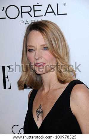Jodie Foster at the  17th Annual Women in Hollywood Tribute, Four Seasons Hotel, Los Angeles, CA. 10-18-10