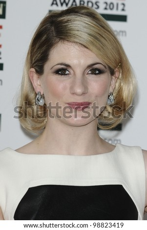Jodie Whittaker arriving for the Empire Film Awards 2012 at the Grosvenor House Hotel, London. 25/03/2012 Picture by: Steve Vas / Featureflash