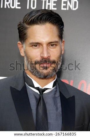 Joe Manganiello at the Season 7 premiere of HBO's 'True Blood' held at the TCL Chinese Theatre in Los Angeles, United States, 170614.