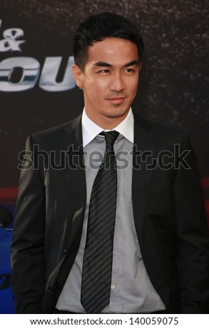 "Joe Taslim at the ""Fast And Furious 6"" Los Angeles Premiere, Gibson Amphitheatre, Universal City, CA  05-21-13"