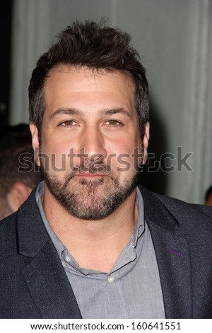 "Joey Fatone at the ""Jackass Presents: Bad Grandpa"" Los Angeles Premiere, Chinese Theater, Hollywood, CA 10-23-13"