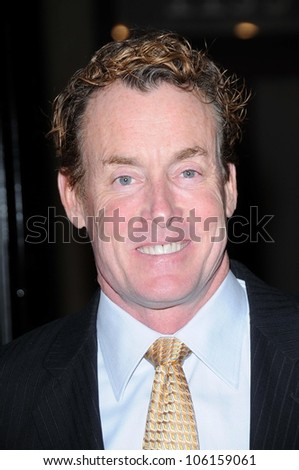 John C. McGinley   at the World Premiere of 'Gran Torino'. Warner Bros Studios, Burbank, CA. 12-09-08 - stock photo