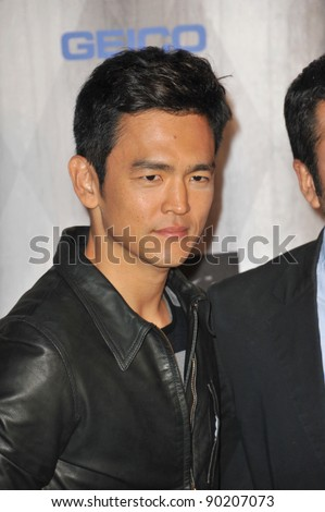 John Cho at the 2011 Spike TV Scream Awards at Universal Studios, Hollywood. October 15, 2011  Los Angeles, CA Picture: Paul Smith / Featureflash - stock photo