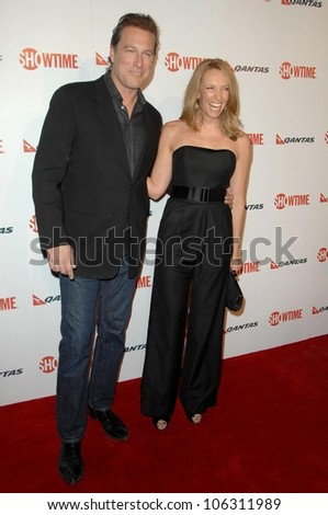 John Corbett and Toni Collette  at the Premiere Screening of 'United States of Tara'. Directors Guild of America, Los Angeles, CA. 01-12-09 - stock photo