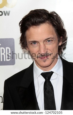 John Hawkes at the 18th Annual Critics' Choice Movie Awards Arrivals, Barker Hangar, Santa Monica, CA 01-10-13
