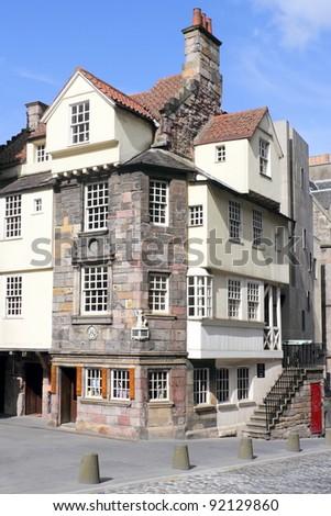 John Knox House - stock photo