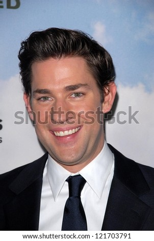 "John Krasinski at the ""Promised Land"" Los Angeles Premiere, DGA, Los Angeles, CA 12-06-12 - stock photo"