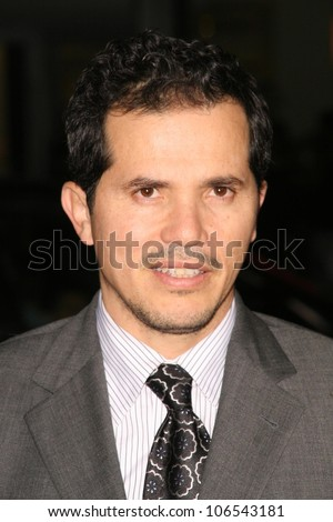 John Leguizamo  at the Los Angeles Premiere of 'Nothing Like The Holidays'. Grauman's Chinese Theater, Hollywood, CA. 12-03-08 - stock photo