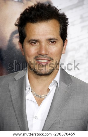 "John Leguizamo at the Los Angeles premiere of ""Ride Along"" held at the TCL Chinese Theatre in Los Angeles on January 13, 2014 in Los Angeles, California.  - stock photo"