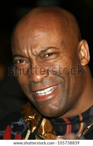 John Singleton  at the Los Angeles Premiere of 'Fast and Furious'. Gibson Amphitheatre, Universal City, CA. 03-12-09 - stock photo