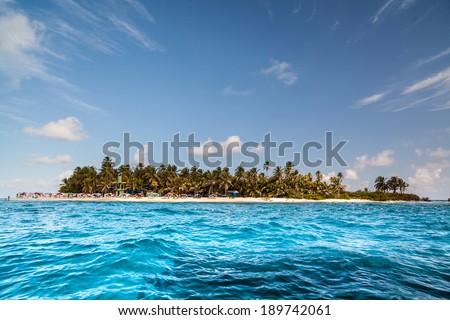 Johnny Cay - San Andres Island, Colombia - stock photo