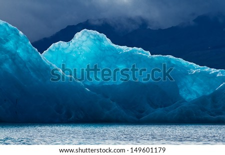 Jokulsarlon Iceland  - stock photo