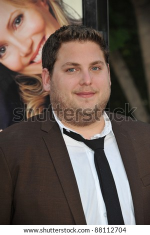"Jonah Hill at the world premiere of ""Funny People"" at the Arclight Theatre, Hollywood. July 20, 2009  Los Angeles, CA Picture: Paul Smith / Featureflash - stock photo"