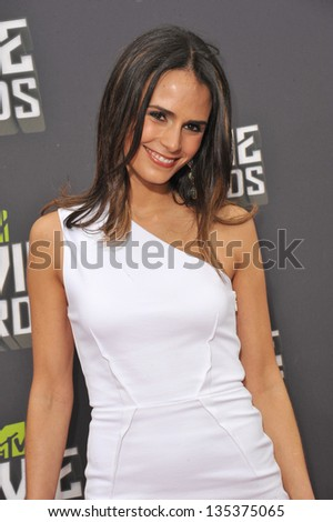 Jordana Brewster at the 2013 MTV Movie Awards at Sony Studios, Culver City. April 14, 2013  Los Angeles, CA Picture: Paul Smith