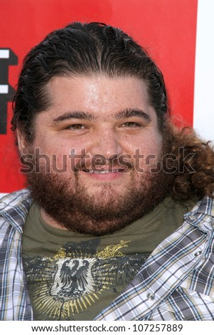 Jorge Garcia  at 'Band From TV' Presented by Netflix Live. The Autry National Center Of The American West, Los Angeles, CA. 08-09-08