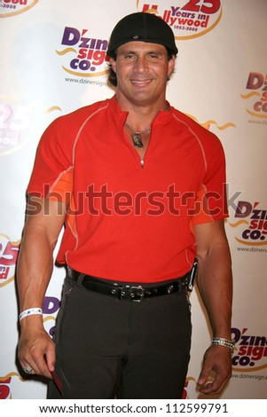 Jose Canseco at the charity poker tournament hosted by Jay Davis to benefit The Clear View Treatment Center. Hollywood Roosevelt Hotel, Hollywood, CA. 07-16-07 - stock photo